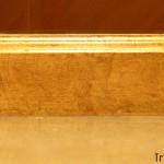 Pan de Oro en marco de espejo